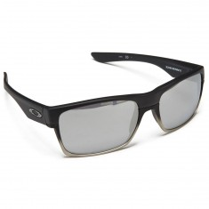 Oakley Two Face Sunglasses - Machinist Matte Black/Chrome Iridium