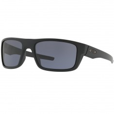 Oakley Drop Point Sunglasses - Matte Black/Grey