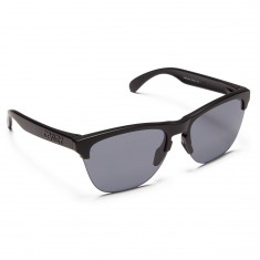 Oakley Frogskin Lite Semi Sunglasses - Matte Black/Grey