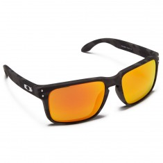 Oakley Holbrook Sunglasses - Black Camo/Prizm Ruby