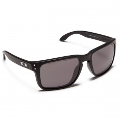 Oakley Holbrook XL Sunglasses - Matte Black/Warm Grey