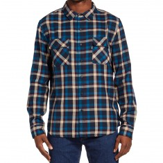 Huf Taylor Flannel Shirt - Red