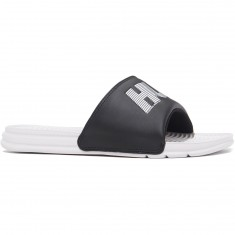 HUF Slide Shoes - Black/White 10k