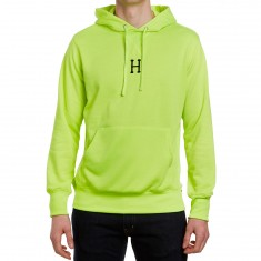 Huf State Pullover Hoodie - Fluoro Yellow
