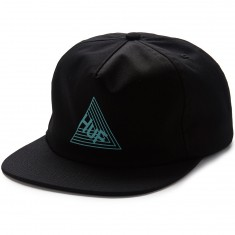 Huf Dimensions Snapback Hat - Black