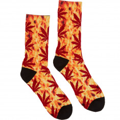Huf Digital Plantlife Crew Socks - Pizza
