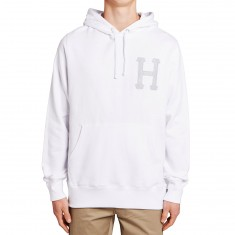Huf Classic H 3M Applique Pullover Hoodie - White