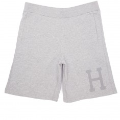 Huf 3M Classic H Fleece Shorts - Grey Heather
