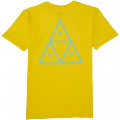 Huf Puff Triple Triangle T-Shirt - Yellow
