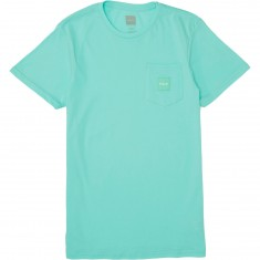 Huf Box Logo Pocket T-Shirt - Celadon