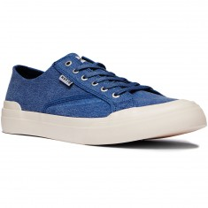 HUF Classic Lo Ess Tx Shoes - Blue Shadow