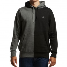Huf Henry Hoodie - Black/Charcoal Heather