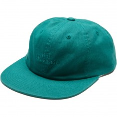 Huf Overdye 6 Panel Hat - Jade