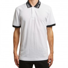 Huf Letras Polo Shirt - White