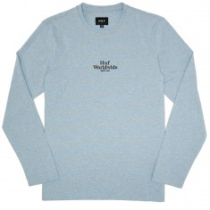 Huf Royale Longsleeve Striped Shirt - Blue/Grey Heather