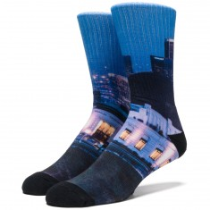 Huf Griffith Crew Socks - Multi