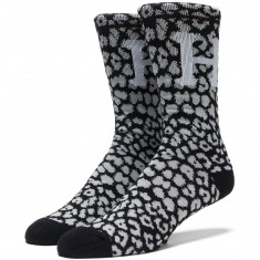 Huf Cheetara Crew Socks - Black