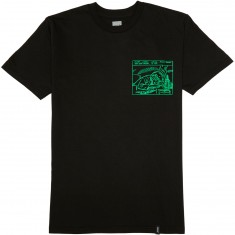 Huf Only Friend T-Shirt - Black