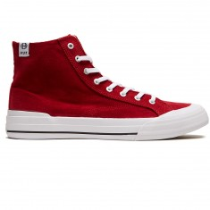 Huf Classic Hi Ess Tx Shoes - Crimson