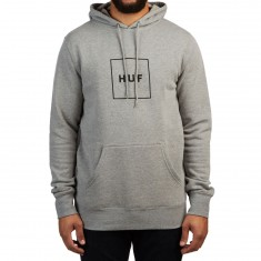Huf Box Logo Pullover Hoodie - Grey Heather