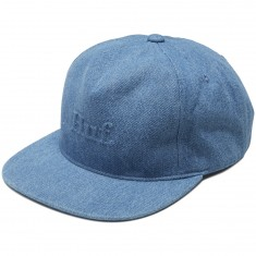 Huf Worldwide Strapback Hat - Light Denim