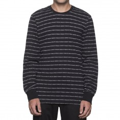 Huf Fuck It Jacquard Long Sleeve T-Shirt - Black