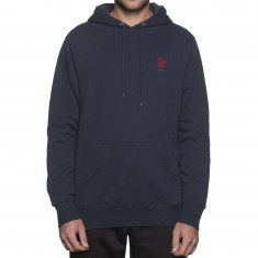 Huf Country Club Pullover Hoodie - Navy