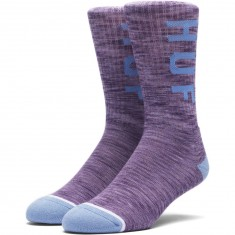 Huf Melange OG Logo Socks - Purple