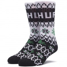 Huf Holiday Sweater Socks - Black