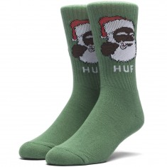 Huf December Dudes Series Socks - Green