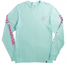 Huf Domestic Long Sleeve T-Shirt - Celadon
