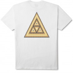 Huf Beaded Triple Triangle T-Shirt - White