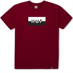 Huf Split Bar Logo T-Shirt - Red