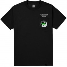 Huf Yin Yang Pocket T-Shirt - Black