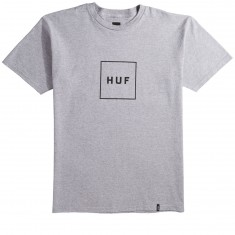 Huf Box Logo T-Shirt - Grey Heather