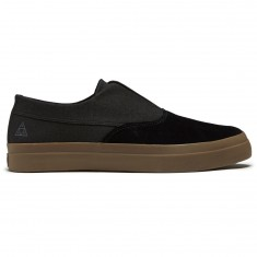 HUF Dylan Slip On Shoes - Black/Dark Gum
