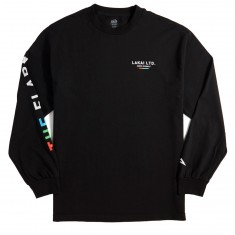 Lakai The Flare Longsleeve T-Shirt - Black