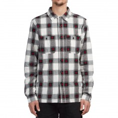 Huf Plantlife Plaid Longsleeve Shirt - Black