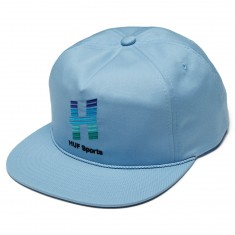 Huf Network Snapback Hat - Light Blue