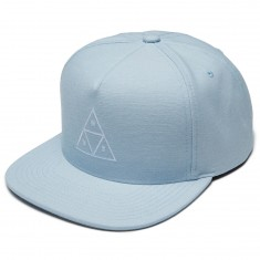 Huf Triple Triangle Snapback Hat - Blue