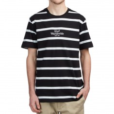 Huf Golden Gate Stripe Shirt - Black