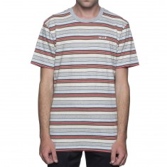 Huf Off Shore Stripe Shirt - Pink
