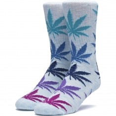 Huf Melange Plantlife Socks - Light Blue