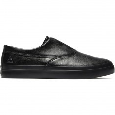 HUF Dylan Slip On Shoes - Black Grain
