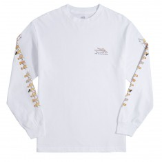 Lakai X Porous Walker Girls Longsleeve T-Shirt - White