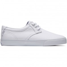 Lakai Daly Shoes - White Canvas