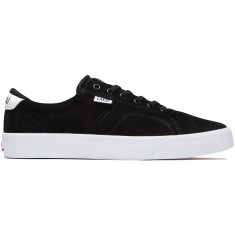 Lakai Flaco Shoes - Black/White Suede