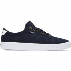 Lakai Flaco Shoes - Navy/White Suede
