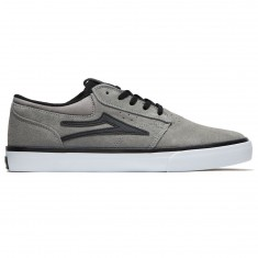 Lakai X Hardluck Griffin Shoes - Grey/Black Suede