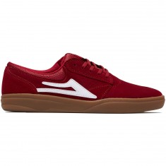 Lakai Griffin XLK Shoes - Red/Gum Suede